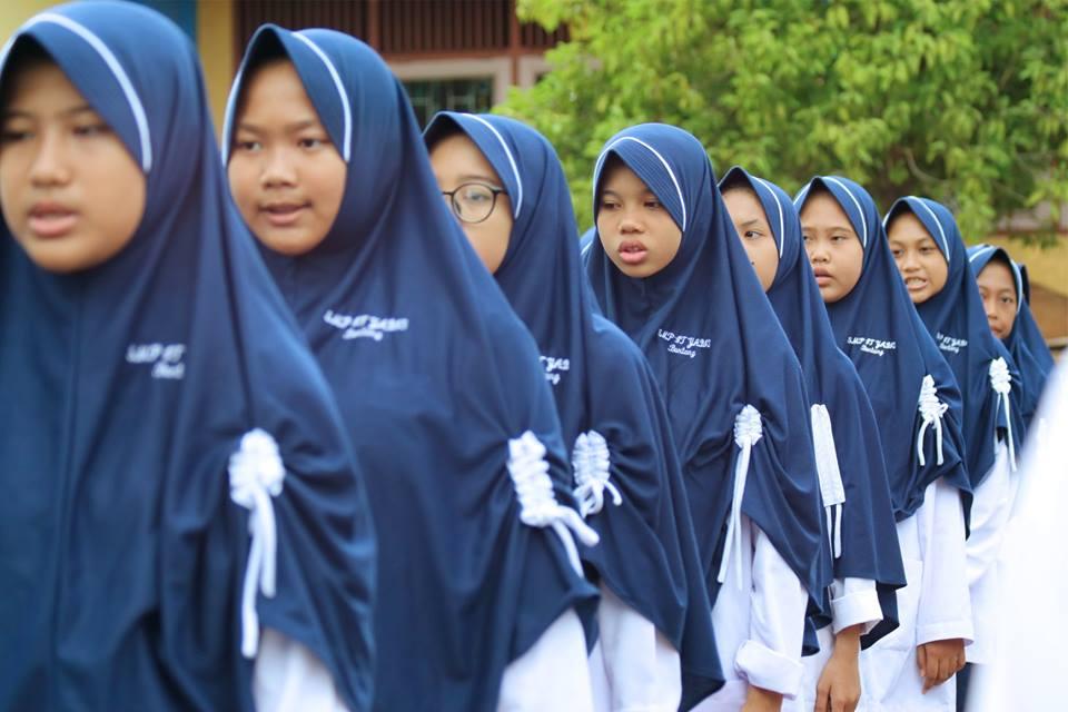 Upacara HUT RI ke 73 di Yayasan Yabis Berlangsung Khidmat